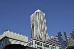 Horizon de Chicago Photos stock