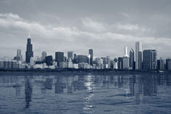 Horizon de Chicago. Images stock