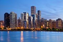 Horizon de Chicago. photo libre de droits