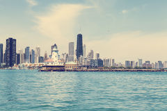 Horizon de Chicago Images stock