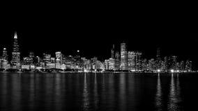 Horizon de Chicago Photo libre de droits