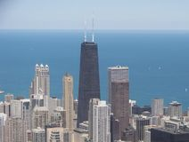 Horizon de Chicago Photo stock