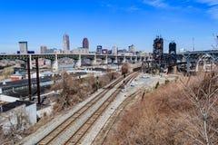 Horizon de Cleveland photo stock