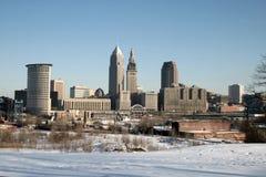 horizon de Cleveland Photos libres de droits