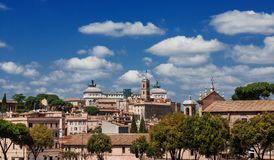 Horizon de colline de Capitoline Photo stock