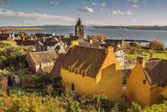 Horizon de Culross Photos stock