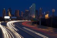 Horizon de Dallas photo libre de droits
