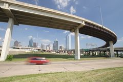 Horizon de Dallas Photographie stock libre de droits