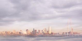 Horizon de Dallas Images libres de droits