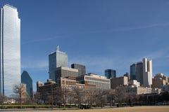 Horizon de Dallas du centre photographie stock