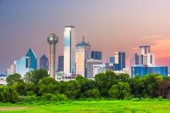 Horizon de Dallas, le Texas, Etats-Unis images stock