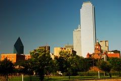 Horizon de Dallas Texas photographie stock libre de droits