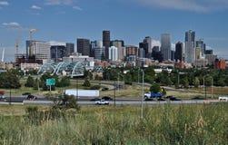 Horizon de Denver Images libres de droits