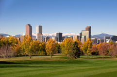 Horizon de Denver Images stock
