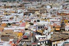 Horizon de dessus de toit de Séville image libre de droits