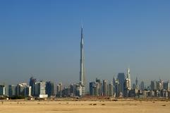 Horizon de Dubaï Photo libre de droits