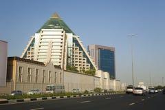 Horizon de Dubaï, EAU Image libre de droits