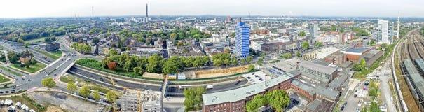 Horizon de Duisbourg, Allemagne Photos libres de droits