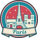 Horizon de Frances de Paris illustration de vecteur