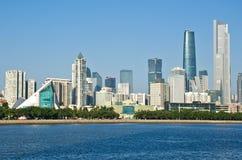 Horizon de Guangzhou pendant la journée photo stock