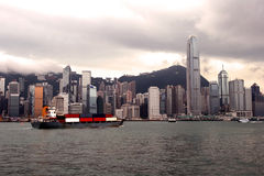 Horizon de Hong Kong photo stock