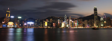 Horizon de Hong Kong Image libre de droits