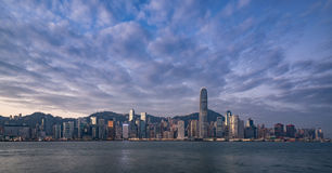Horizon de Hong Kong Photo libre de droits
