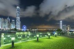 horizon de Hong Kong de ville Image stock
