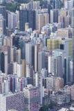 horizon de Hong Kong de ville Photos libres de droits