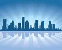 Horizon de Houston illustration de vecteur