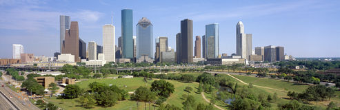 Horizon de Houston photos libres de droits