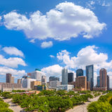 Horizon de Houston des sud dans le Texas USA image stock