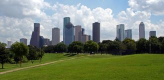 Horizon de Houston le Texas Photo libre de droits