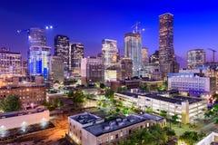 Horizon de Houston le Texas photographie stock libre de droits
