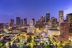 Horizon de Houston le Texas Photos libres de droits