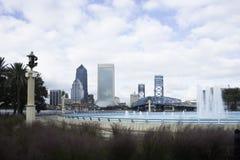 Horizon de Jacksonville en Floride Images stock