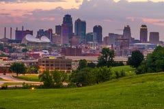 Horizon de Kansas City Images stock