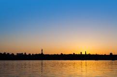 Horizon de Kiev Images libres de droits