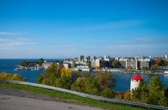 Horizon de Kingston dans Ontario images libres de droits