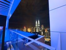 Horizon de Kuala Lumpur Images stock
