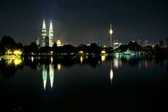 Horizon de Kuala Lumpur Image stock