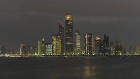 Horizon de l'Abu Dhabi banque de vidéos