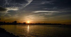 Horizon de l'Alexandrie Images libres de droits