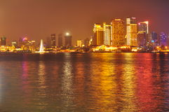 Horizon de la Chine Changhaï Image libre de droits
