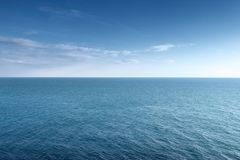 Horizon de la mer Photo stock