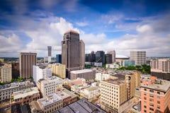 Horizon de la Nouvelle-Orléans Photographie stock libre de droits