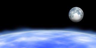 Horizon de la terre Photographie stock