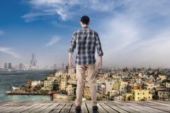Horizon de la ville photos stock
