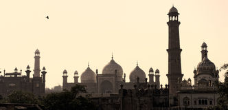 Horizon de Lahore Photographie stock
