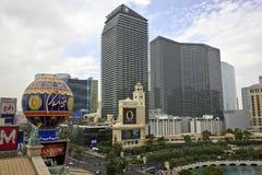 Horizon de Las Vegas Photographie stock libre de droits